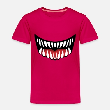 face mask mask face tooth mouth - Toddler Premium T-Shirt
