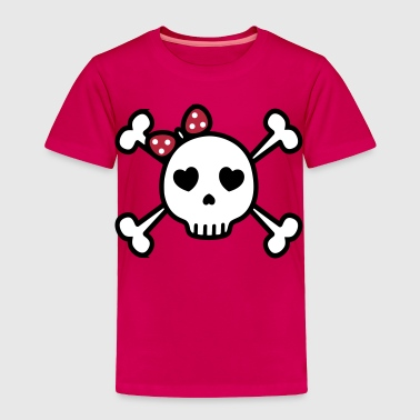 Cute Sugar Skull - Toddler Premium T-Shirt