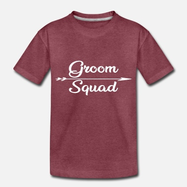 Groom Squad Groom Squad Gift - Pride - Toddler Premium T-Shirt
