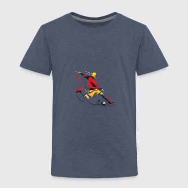 Kicker Kicker! - Toddler Premium T-Shirt