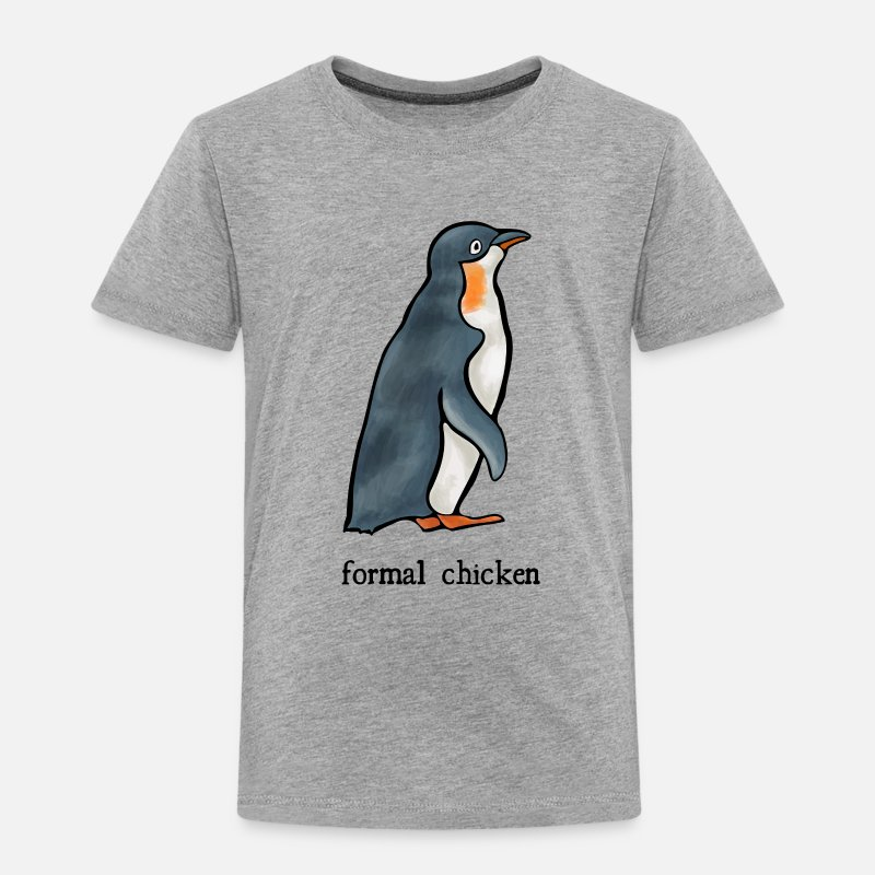 Formal Chicken Toddler T Shirt