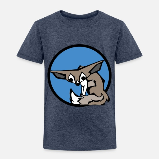 Birthday Baby Clothing - Cute Fennec Fox | Animal Series | DopeyArt - Toddler Premium T-Shirt heather blue