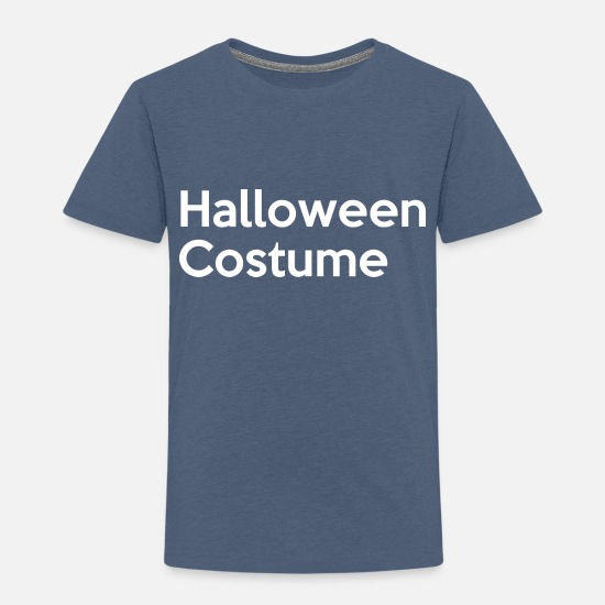 Typography Baby Clothing - Halloween Costume - Toddler Premium T-Shirt heather blue