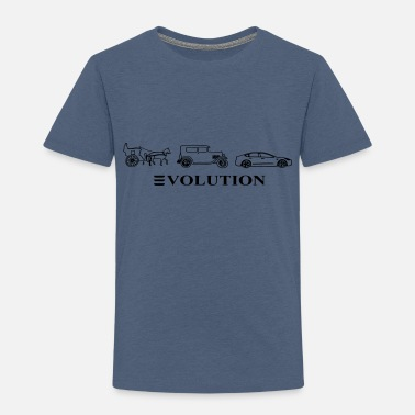 Automobile 3volution of Automobile - Toddler Premium T-Shirt