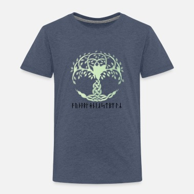 Viking Tree of Life - Yggdrasil - Viking Design - Toddler Premium T-Shirt