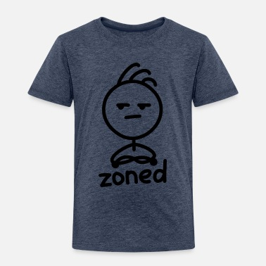 Zone zoned - Toddler Premium T-Shirt