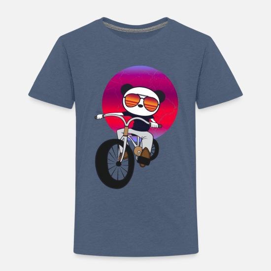 Motorbike Children/'s Kids T Shirt