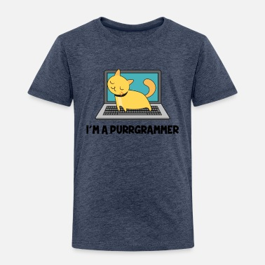 Windows Cat fur programmers Computer Nerd Gift - Toddler Premium T-Shirt