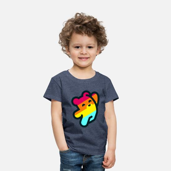 Movie Baby Clothing - Fizzy Bear - Toddler Premium T-Shirt heather blue