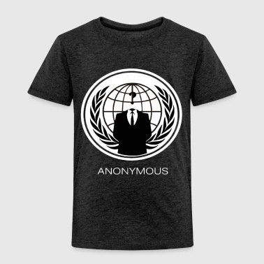ANONYMOUS GROUP Occupy Hacktivist PIPA SOPA ACTA - Toddler Premium T-Shirt