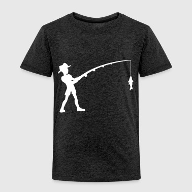 Fishing Fisherman Fish - Toddler Premium T-Shirt
