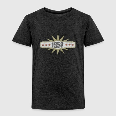 Vintage Birthday Shirt 1958 - Toddler Premium T-Shirt