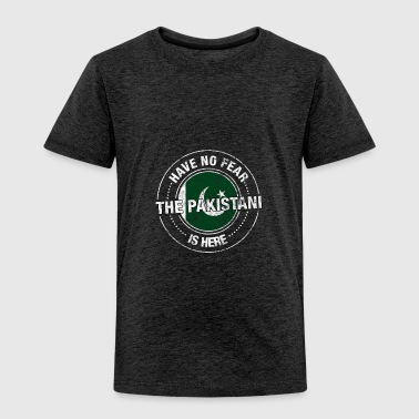 Have No Fear The Pakistani Is Here Shirt - Toddler Premium T-Shirt