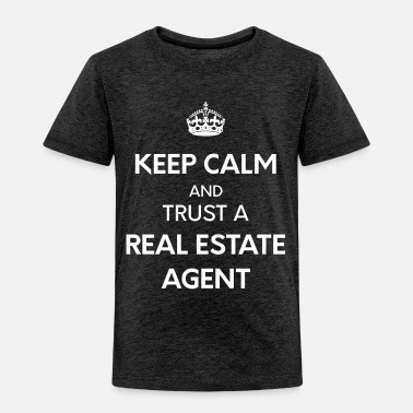 Real Estate Agent Keep calm-real estate - Toddler Premium T-Shirt