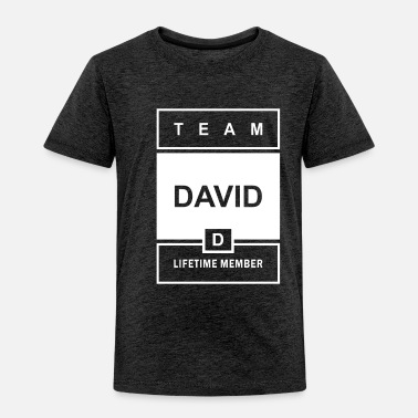 Name Team David Lifetime Member - Toddler Premium T-Shirt