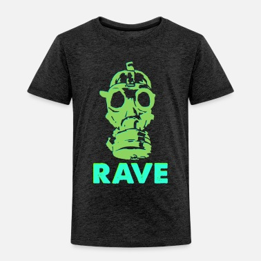 Jay rave gas mask - Toddler Premium T-Shirt