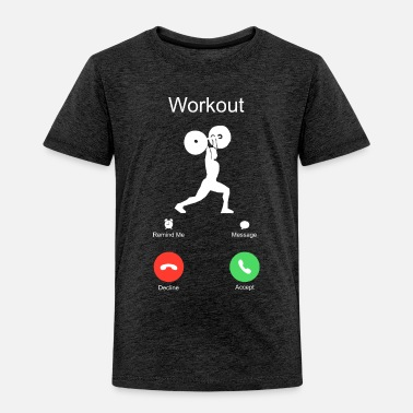 Crossfit call crossfit workout of the day WOD sports - Toddler Premium T-Shirt