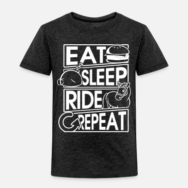 Dressage Eat Sleep Ride Repeat Pferd Horse Geschenk Gift - Toddler Premium T-Shirt