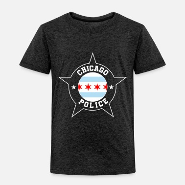 Police Chicago Police T Shirt - Chicago Flag - Toddler Premium T-Shirt