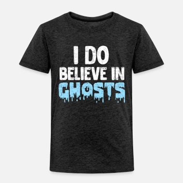 Bicycle I Do Believe In Ghosts - Toddler Premium T-Shirt