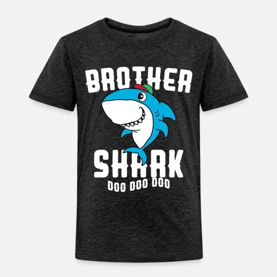 bfd5b40611d9d Shark Baby Clothing - Brother Shark Doo Doo Doo Halloween Christmas Gift -  Toddler Premium T