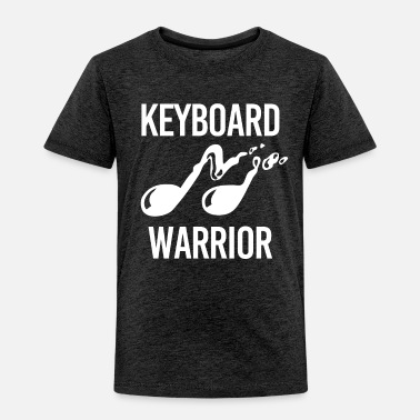 Sheet Keyboard Warrior Geschenk Klavier Piano - Toddler Premium T-Shirt