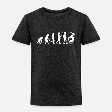 Partner Gymnastic Evolution of Gymnastic and Athletics - Toddler Premium T-Shirt