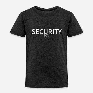 Security Security new Design - Toddler Premium T-Shirt