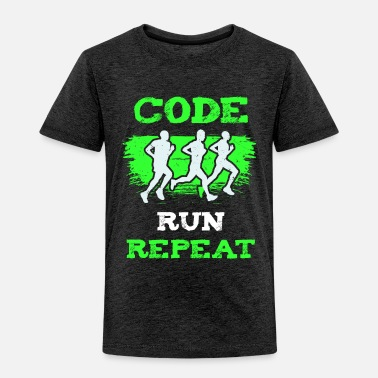 Problem Running Code Is My Cardio I Running For Developer - Toddler Premium T-Shirt