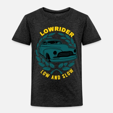 Grandpa Lowrider Low And Slow Geschenk - Toddler Premium T-Shirt