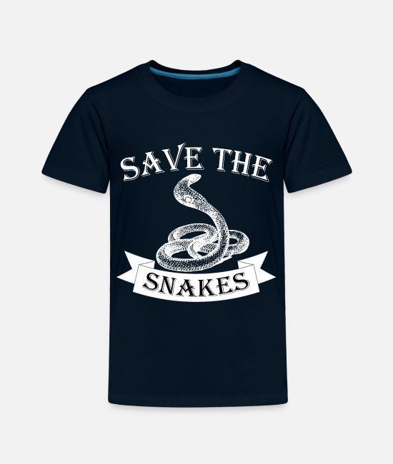 Cobra T-Shirts - Snake - Toddler Premium T-Shirt deep navy