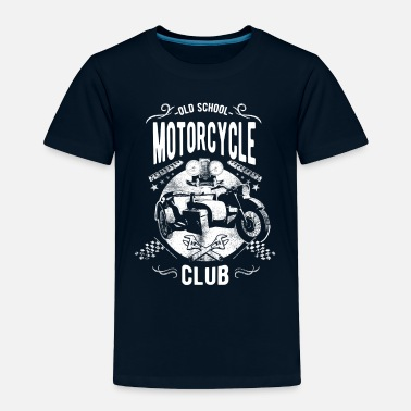 Mc Old School Motorcycle Club - Toddler Premium T-Shirt