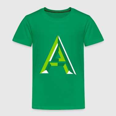 Letter A - Toddler Premium T-Shirt