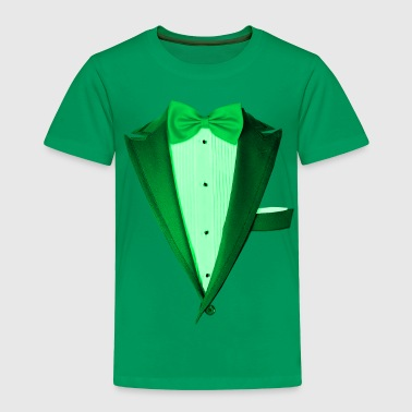 Green St.Paddy's DayTuxedo - Toddler Premium T-Shirt