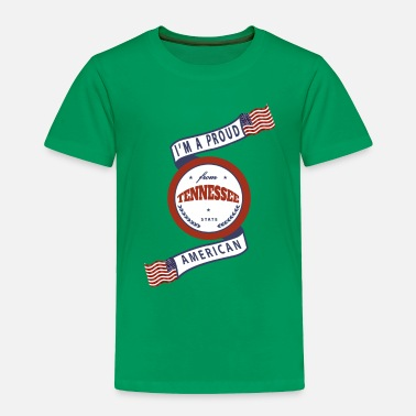 State Tennessee - Toddler Premium T-Shirt