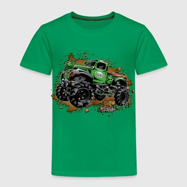 Over Budget Mud Truck - Toddler Premium T-Shirt