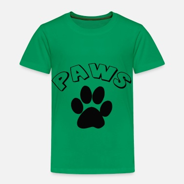Paw PAWS - Toddler Premium T-Shirt