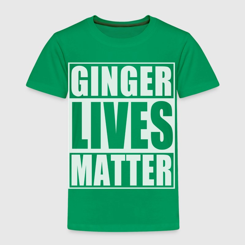 Ginger Lives Matter - Toddler Premium T-Shirt