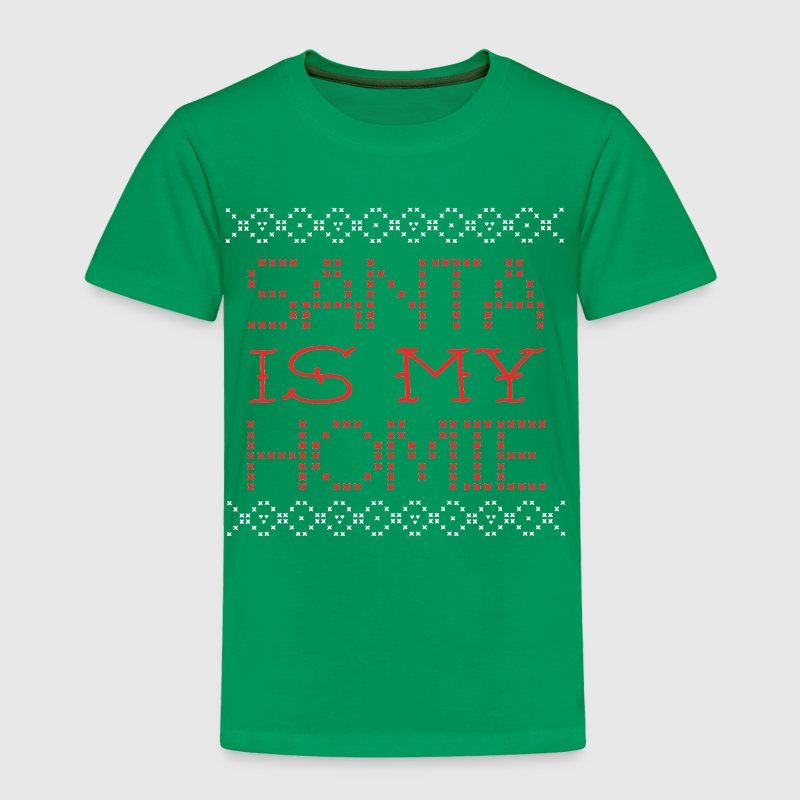 Santa Is My Homie Christmas Design Sweater Inspire - Toddler Premium T-Shirt