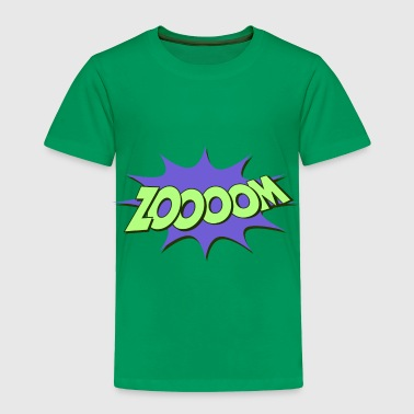 Comic Font Style zoom - comic-style - Toddler Premium T-Shirt