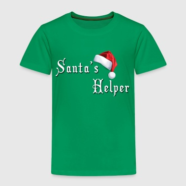 Men's T-Shirt - Santa's Helper - Toddler Premium T-Shirt
