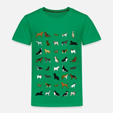 Sports dogs - Toddler Premium T-Shirt