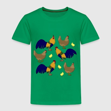 Chicken family - Toddler Premium T-Shirt