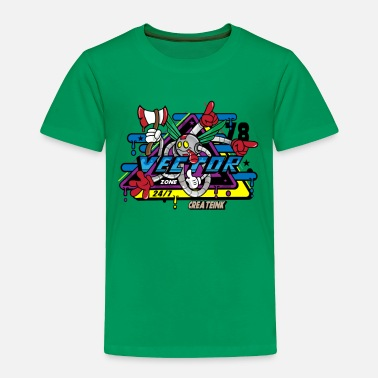 Vector Vector World - Toddler Premium T-Shirt