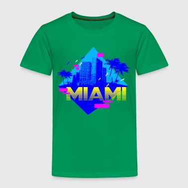 MIAMI RETRO - Toddler Premium T-Shirt