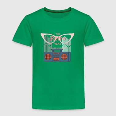 Retro! - Toddler Premium T-Shirt
