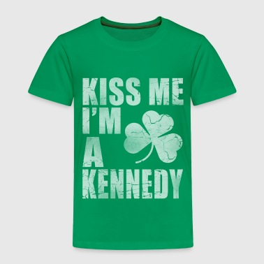 Kiss Me Im A Kennedy Irish - Toddler Premium T-Shirt