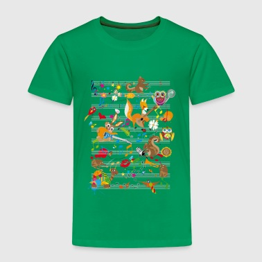 Concert of Animals - Toddler Premium T-Shirt