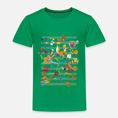 Concert Concert of Animals - Toddler Premium T-Shirt