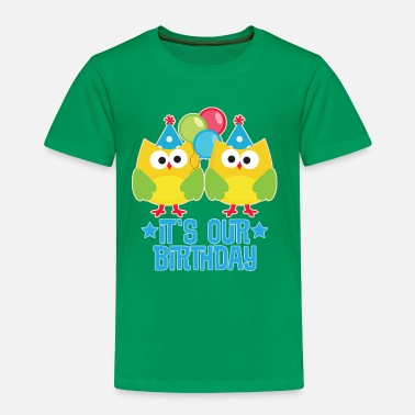 Birthday Party Twins Birthday Party Celebration - Toddler Premium T-Shirt